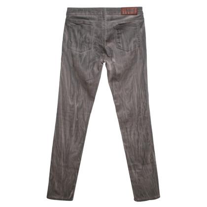 Acne Jeans in grijs / beige
