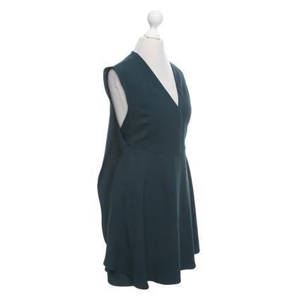 Balenciaga Kleid in Dunkelgrün
