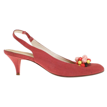 Marc Jacobs Slingbacks in red
