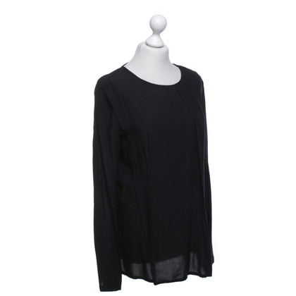 Ann Demeulemeester top in black
