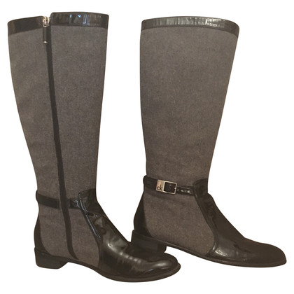 Calvin Klein Boots in equestrian look