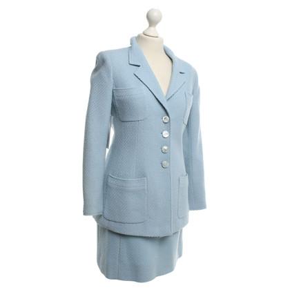 Chanel Costume in azzurro