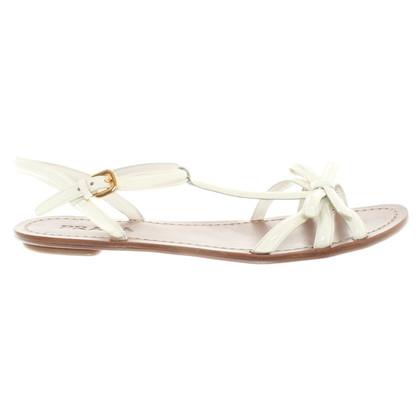 Prada Sandalen aus Lackleder