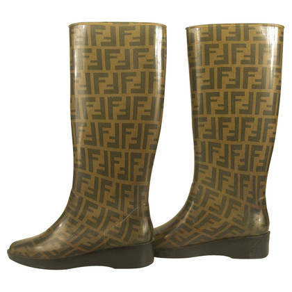 Fendi rubber boots