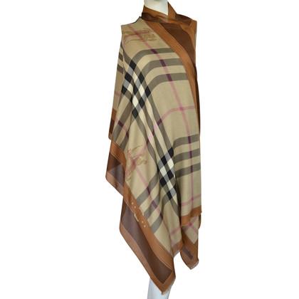 Burberry XXL scarf with cashmere