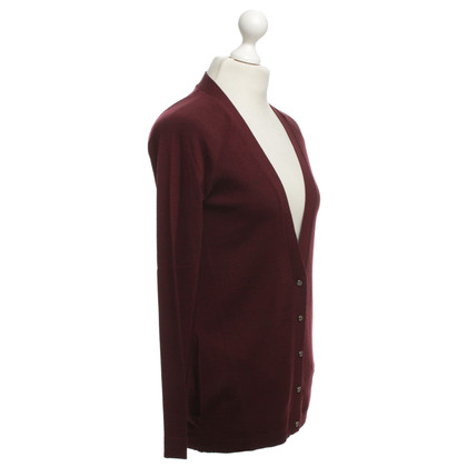 Balenciaga Wool cardigan in Bordeaux
