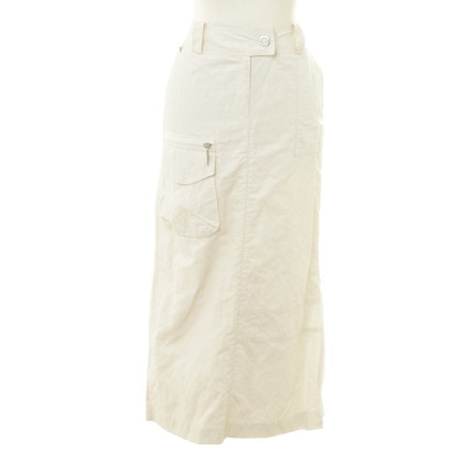 Airfield Long skirt in cream