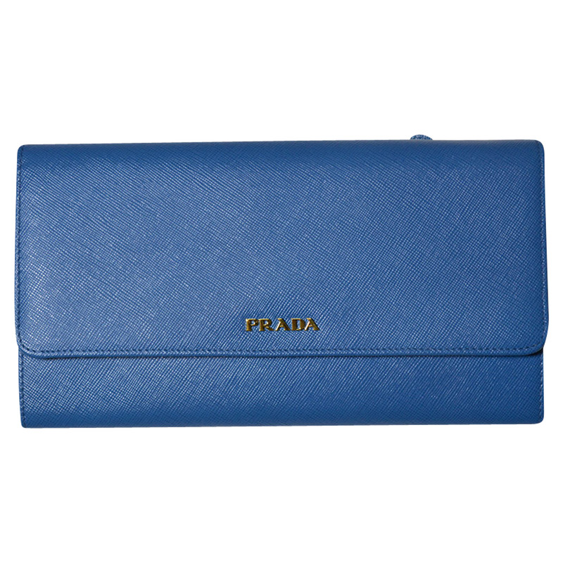 Prada clutch, wallet