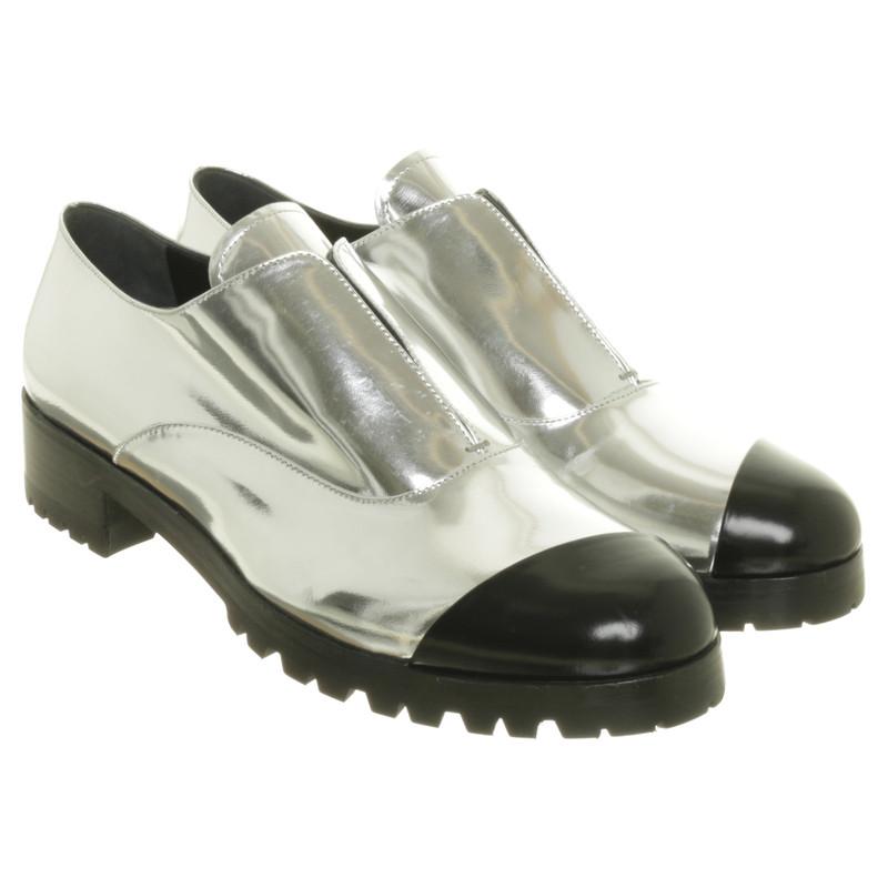 Miu Miu Silver Slipper