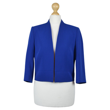 Hobbs Short blazer in blue