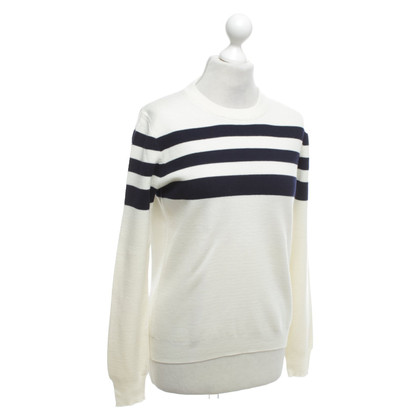 J. Crew Sweater with striped pattern
