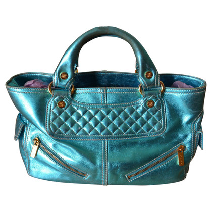 Céline Bowling Bag métallisée