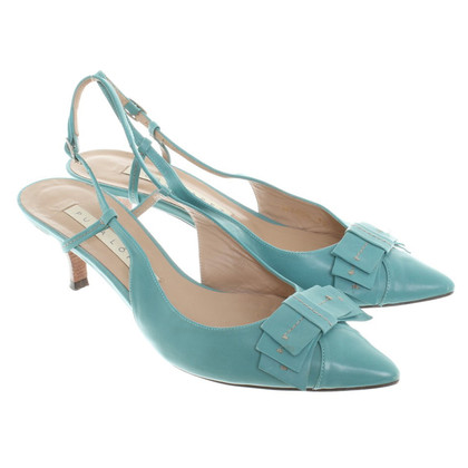 Pura Lopez Sling-pumps in turchese