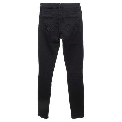 Mother Skinny Jeans in Black