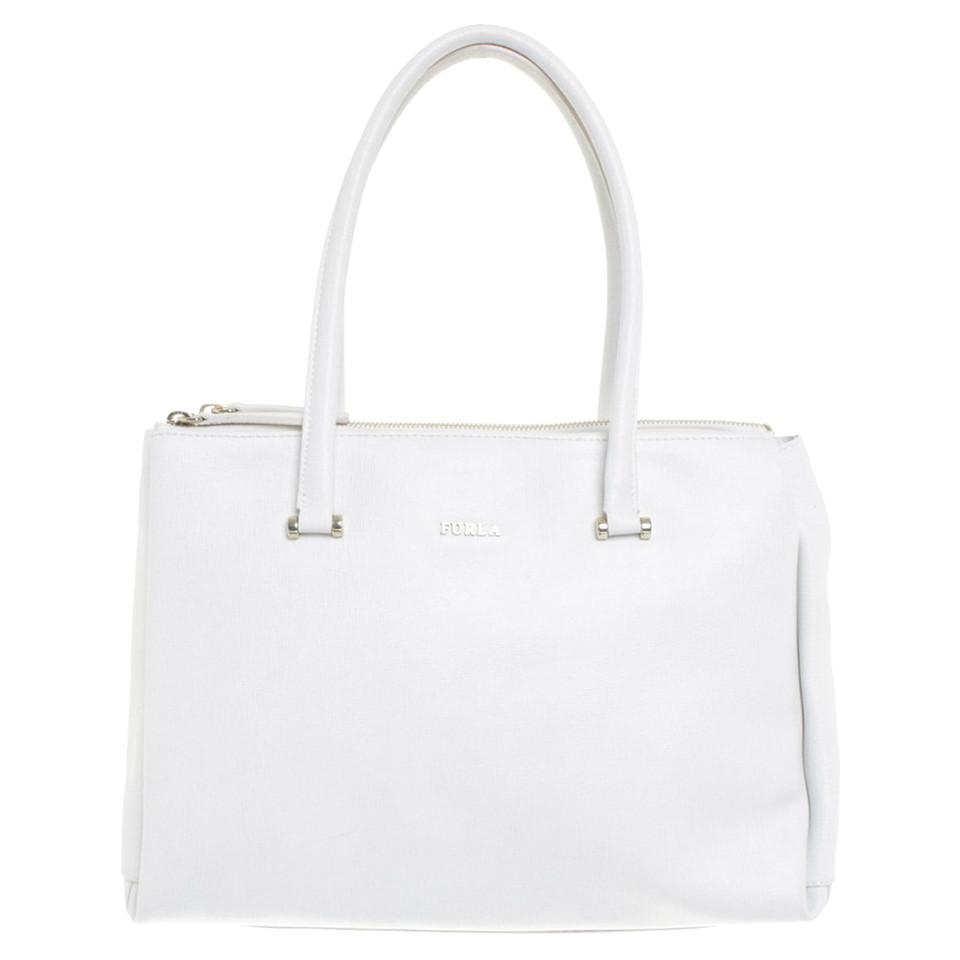 furla handtasche in wei second hand furla handtasche in wei gebraucht kaufen f r 159 00. Black Bedroom Furniture Sets. Home Design Ideas