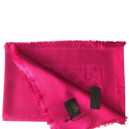 Louis Vuitton Monogram doek in fuchsia