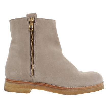 Closed Suede boots in beige