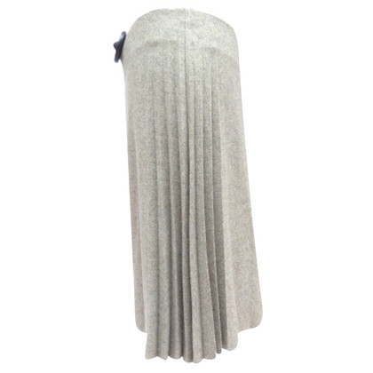 Loro Piana Cashmere skirt with pleats
