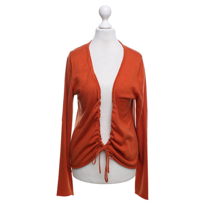 Hemisphere Cardigan in orange