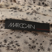 Marc Cain Transparent blouse with pattern