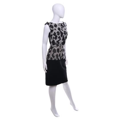 Balenciaga Dress in black and white