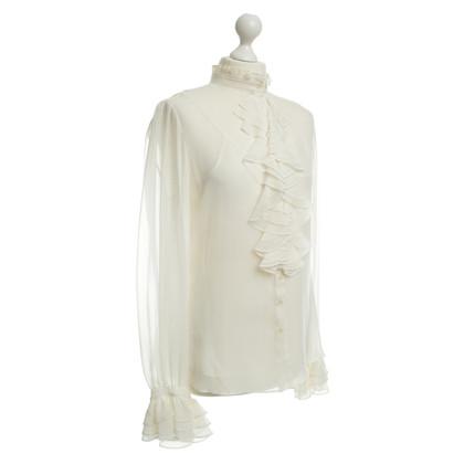 Ralph Lauren Silk blouse in cream