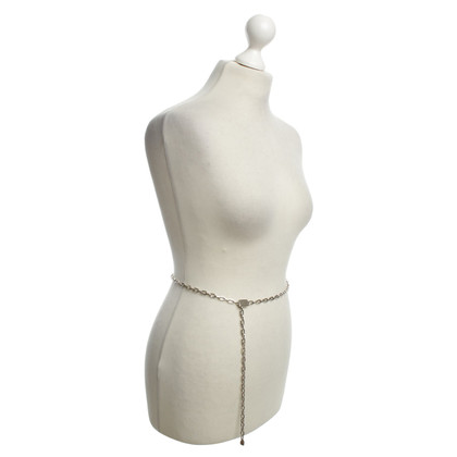 JOOP! Silver colored chain belt