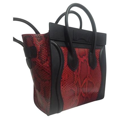 """Céline """"Micro Luggage Bag"""" aus Pythonleder"""