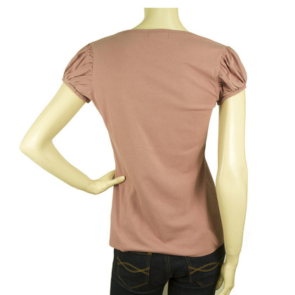 Burberry T-shirt with puff sleeves
