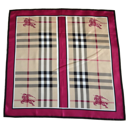 Burberry Silk scarf with Nova Ckeck pattern