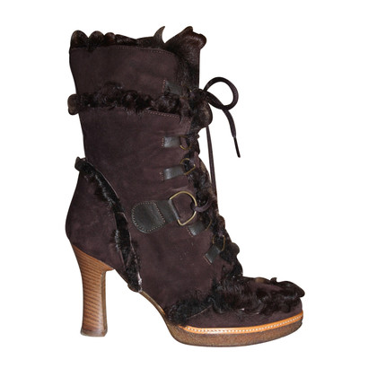 Dolce & Gabbana Stivali di pelle di pecora