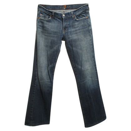 7 For All Mankind Exposed jeans in mid-blue