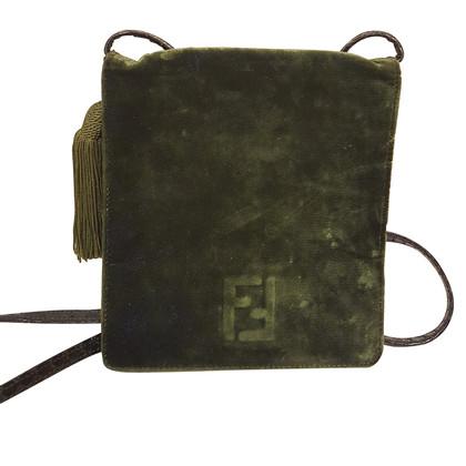 Fendi Vintage groene zak