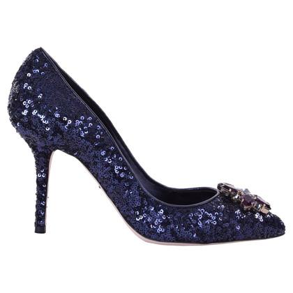 Dolce & Gabbana pumps con paillettes