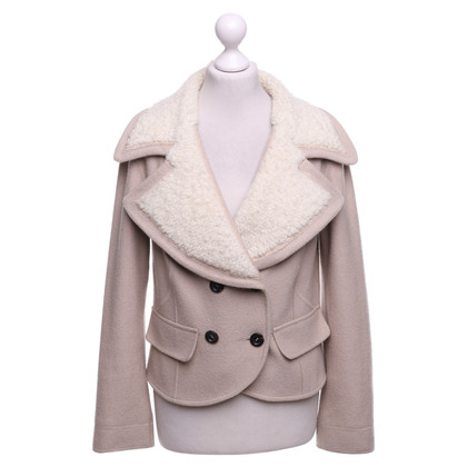 Marc Cain Wool jacket in beige