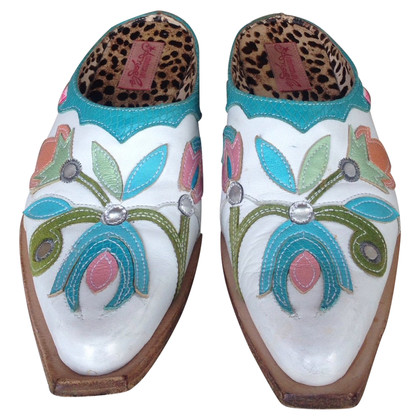 Roberto Cavalli Slippers in multicolor
