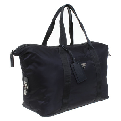 Prada Travel bag in dark blue