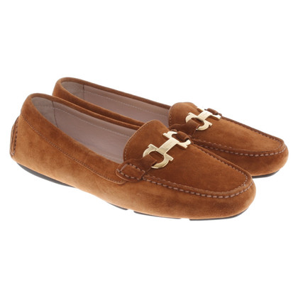 Salvatore Ferragamo Moccasins in brown