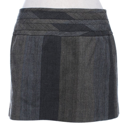 Karen Millen Wrap skirt with plaid pattern