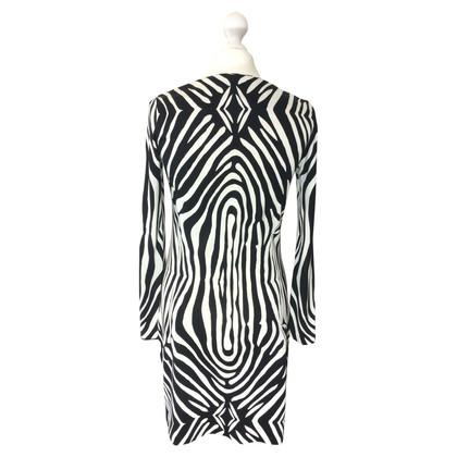 Diane von Furstenberg Kleid mit Zebramuster
