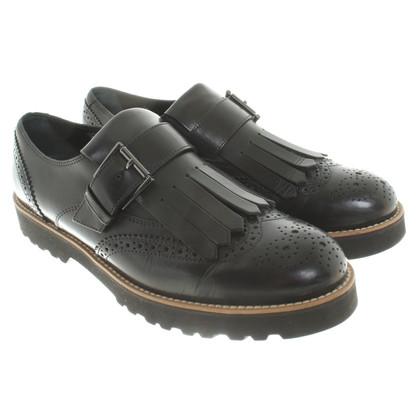 Hogan Loafers in zwart