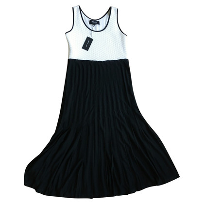 Derek Lam Long dress in black / white