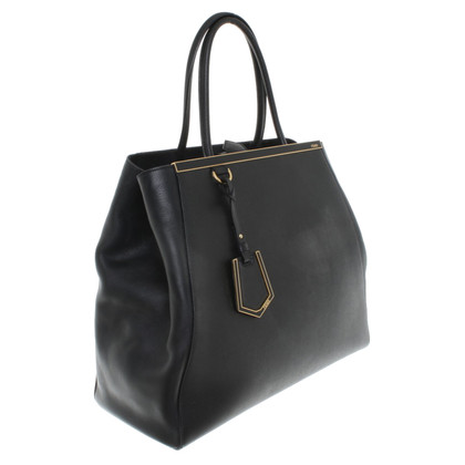 "Fendi ""2Jours Jumbo"" in black"