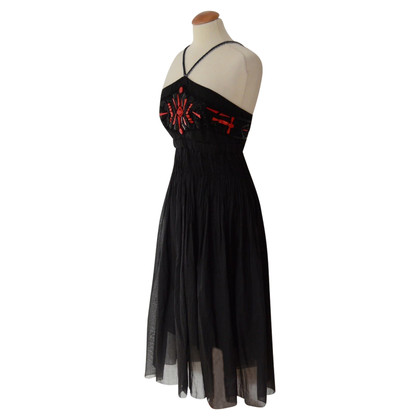 Prada Evening dress with jewelery embroidered