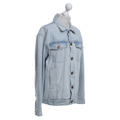 Current Elliott veste denim bleu clair