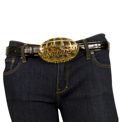 Dsquared2 Belt with logo clasp