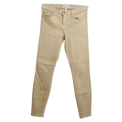 Current Elliott Skinny Jeans in Beige