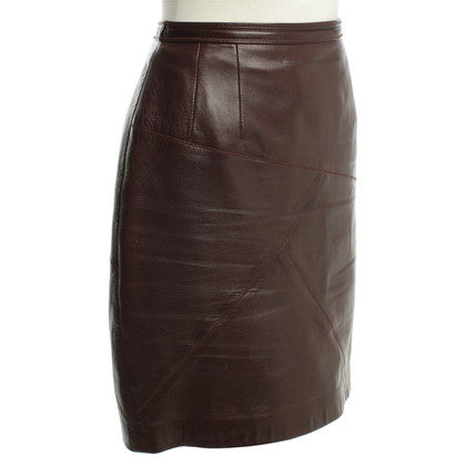 Other Designer High-waist leather skirt