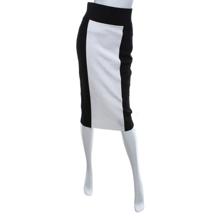 Balmain X H&M skirt in black and white
