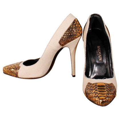 Balmain pumps con borchie